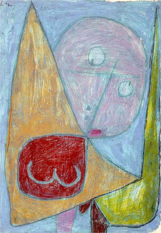 Paul Klee, Angel Still Female, 1939