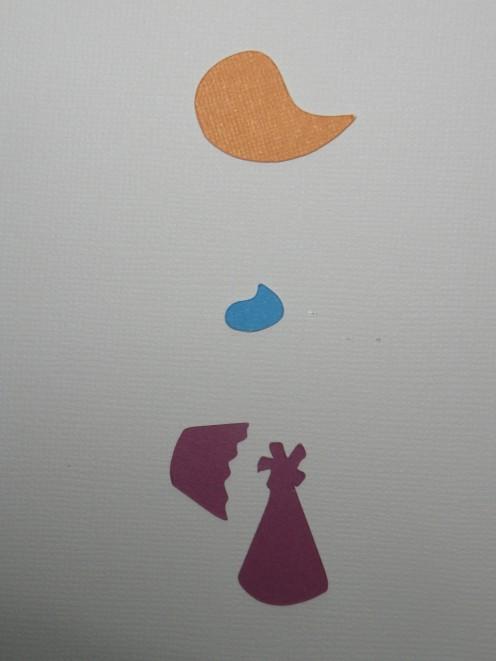 Wing, Swirl, Cupcake bottom & hat