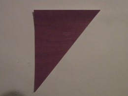 Angled layer cut