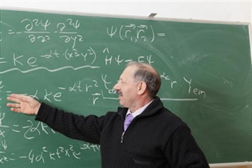 Physics professor.