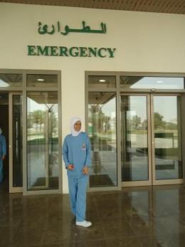 A. Filipino emergency room nurse from Dammam.