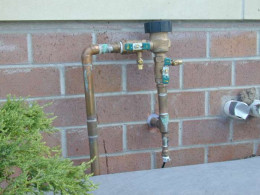 Typically found on many residential irrigation systems.