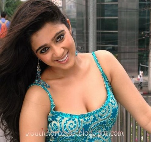 Hot Charmi Kaur Cleavage Pictures
