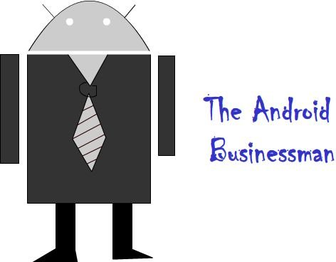 The Android Businessman