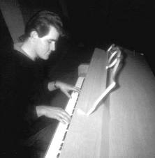 Ian on piano. He would join them on tour or in the recording studio as the 'sixth Stone'