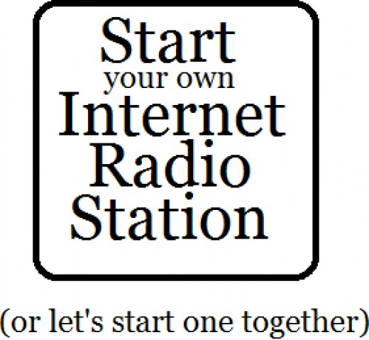 If you got any ideas and would like to share in the dream of starting an Internet Radio Program, let me know!