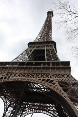 The Eiffel Tower - life-size (you'll want to use a tiny one for your scrapbook jar)