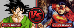Son Goku Vs Superman