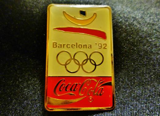 Coca Cola sponsor pin