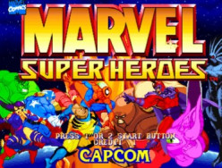 """Marvelous"" games made by Capcom before Marvel vs Capcom: Marvel Super Heroes"
