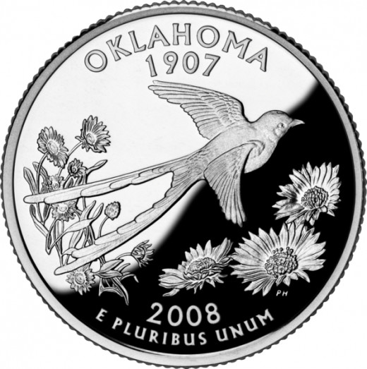 Oklahoma State Quarter [3]