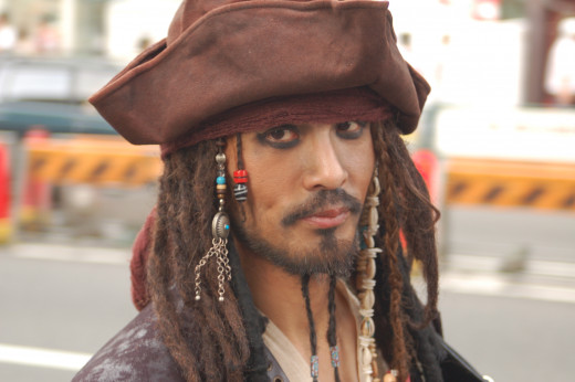 What would this Jack Sparrow look-alike do?