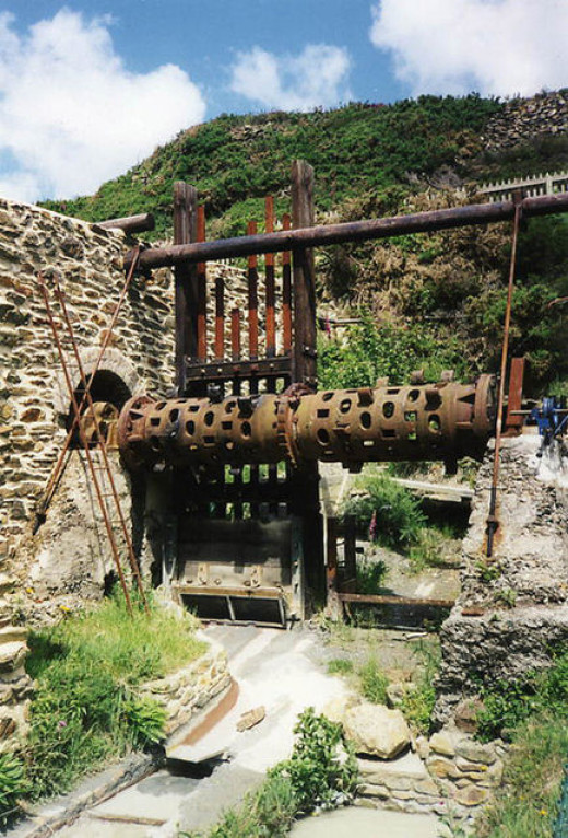 Blue Hills Tin Mine and Tin Streams, Cornwall