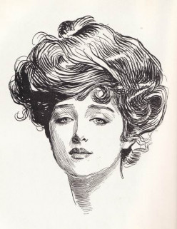 Gibson Girl Gilded Age American Beauty