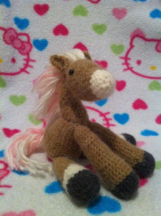 handmade horse
