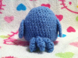 crochet blue bird