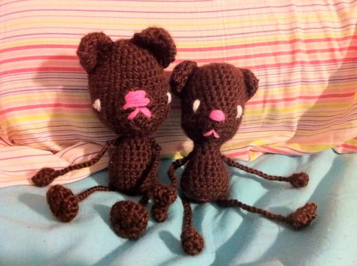 amigurumi bears