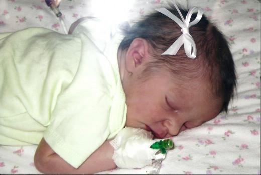 Precious first granddaughter.