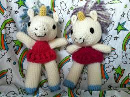 Crochet Amigurumi Unicorn Ballerina