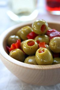 Olives make a wonderful spread.