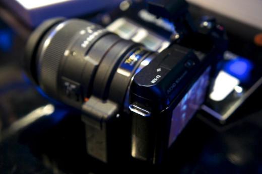 Sony's DSLT a37 camera