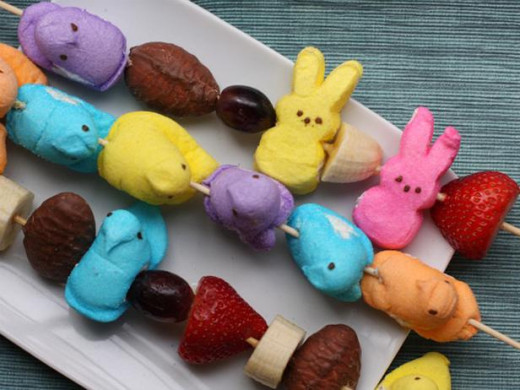"How about some Easter ""Peeps' Kebobs?"