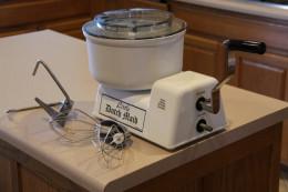 The Little Dutch Maid Hand Crank Mixer