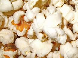 Yummy popcorn after popping
