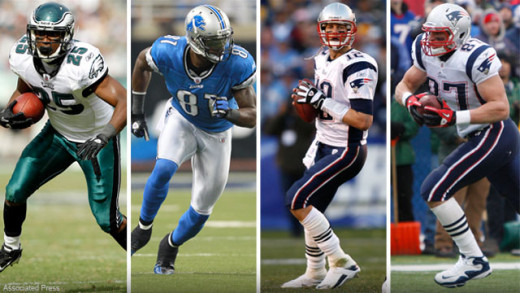 Brady, Megatron, Gronk, McCoy are all studs, but when do you take them?