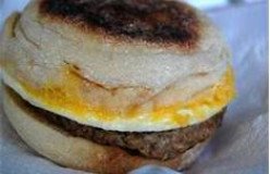 Breakfast: English Muffin Sandwiches
