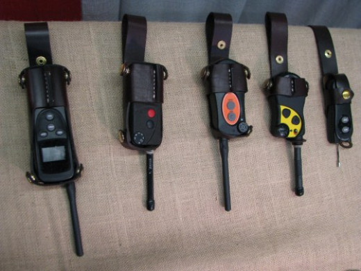 Leather Transmitter Cases