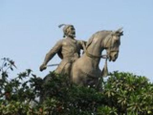 Chatrapati Maharaj Shivaji Statue erected in 1961.