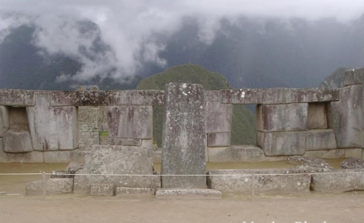 Macchu Picchu's Temple windows