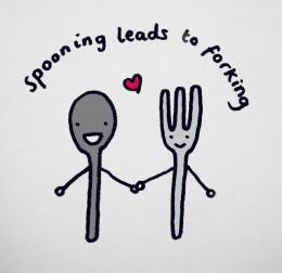 Spooning spoons