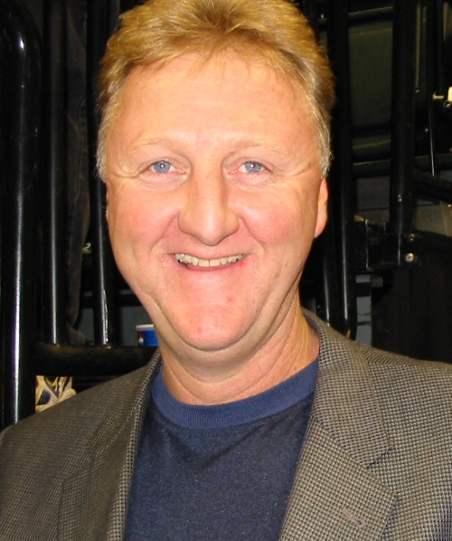 Larry Bird - He was an unstoppable three point shooting force, like a fighter pilot