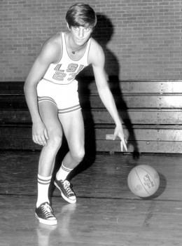 Pistol Pete Maravich- He was one of the best players to ever grace the game of basketball - best all around team player and ball handler as well as amazing shooter