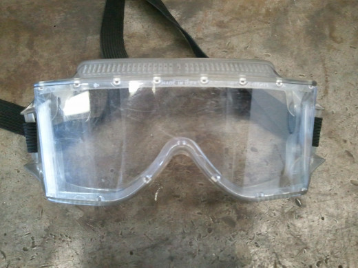 Goggles are necessary when applying spray and powder pesticides.