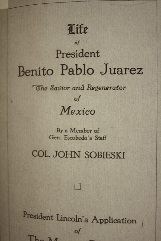 el presidente juarez