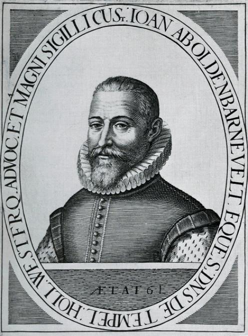 Engraving of Johan van Oldenbarnevelt