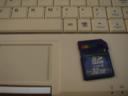 Added 32G SD card for extra storage.
