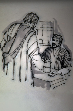 Barnabas sold his land and gave all his money to Peter to help care for the believers (Acts 4:36,37).