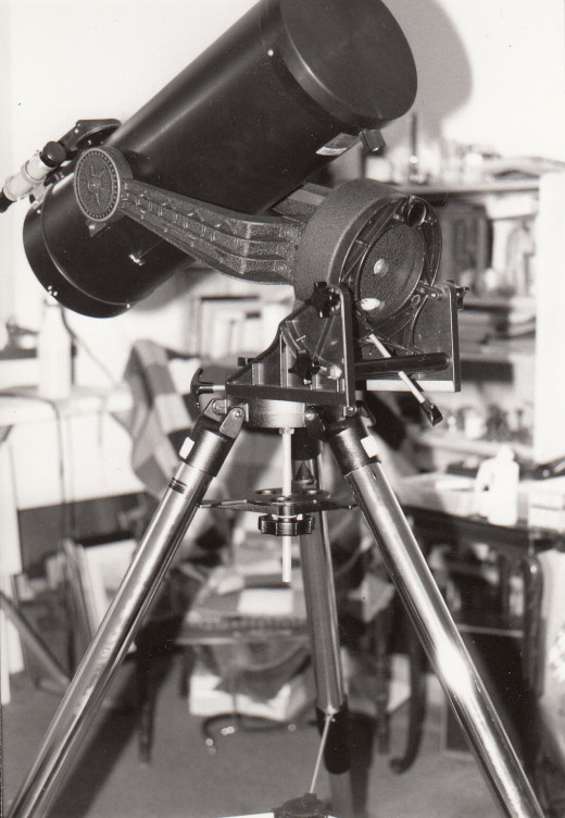 The Schmidt Camera used at the observing site on the grounds of the Tahiti International Golf Course in the Commune of Papara on the island of Tahiti in French Polynesia