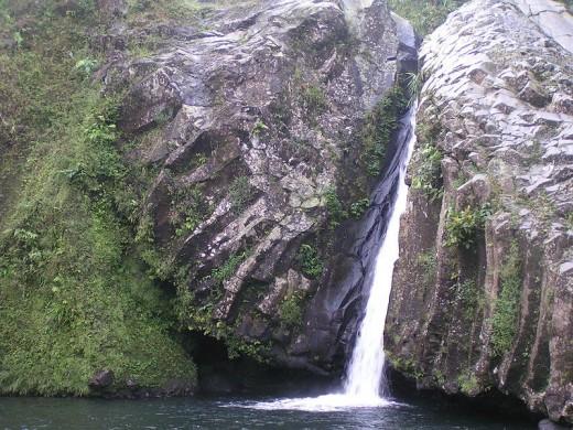 One of waterfalls in Baturaden