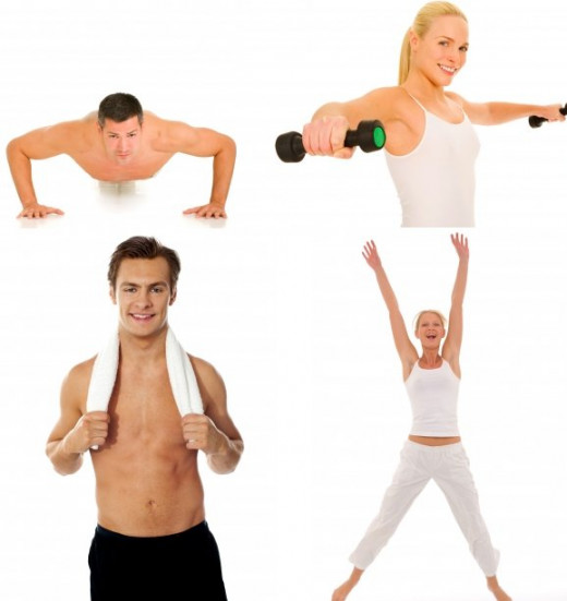 Workout to remain fit, healthy and happy!