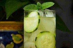 Mint and Cucumber Refresher