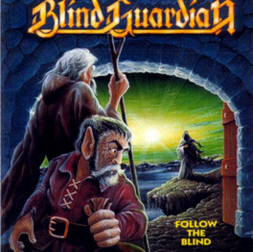 The cool artwork for Follow the Blind.