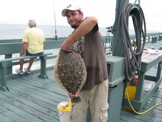 Delicious flounder.
