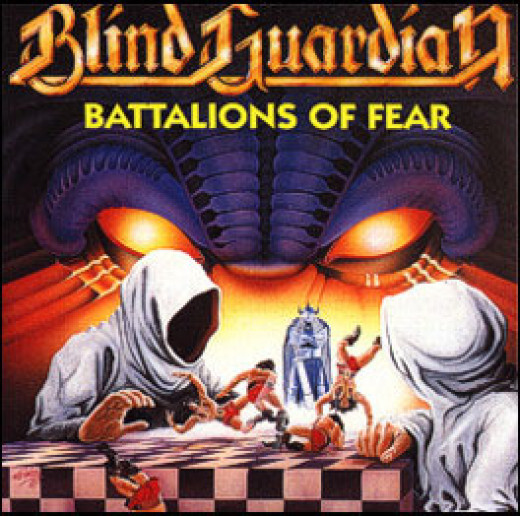 The artwork for Battalions of Fear.