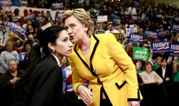 Clinton aide Huma Abedin is one of the targets of Bachmann's witch hunt.