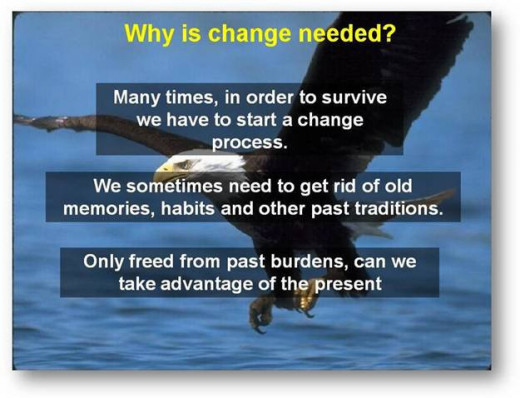 Why is change needed - courtesy of Daxen group